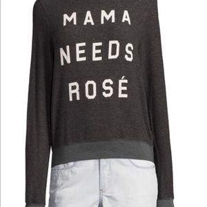 Wildfox Mama Needs Rose Sweatshirt BNWT Size Small